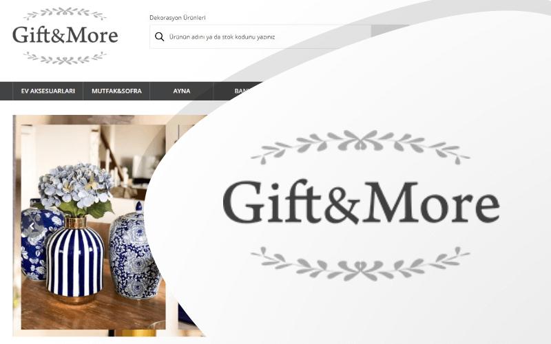 Gift&More E-ticaret Sitesi