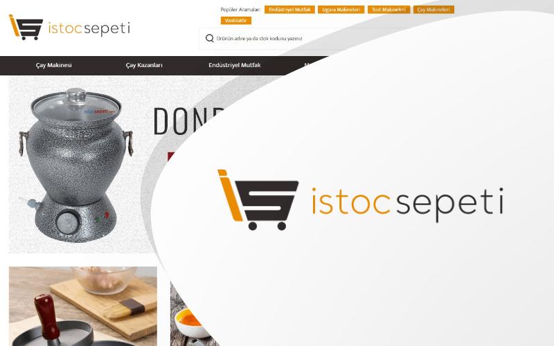 İstoç Sepeti E-ticaret Sitesi