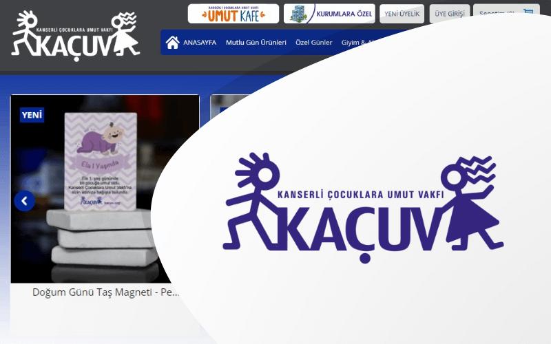 Kanserli Çocuklara Umut Vakfı E-ticaret Sitesi