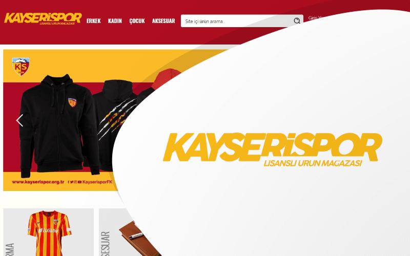 Kayserispor E-ticaret Sitesi