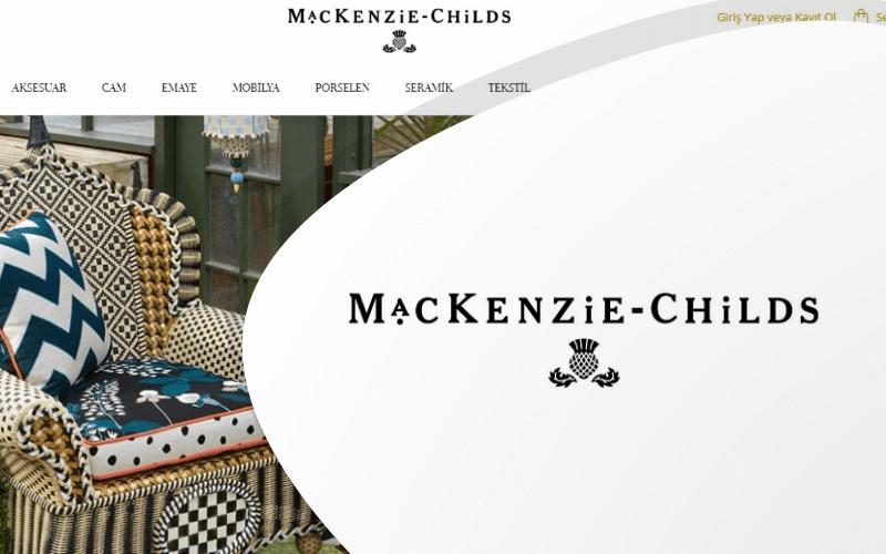 MacKenzie-Childs E-ticaret Sitesi