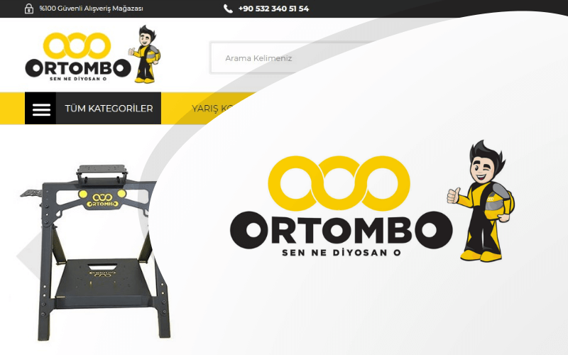 Ortombo E-ticaret Sitesi