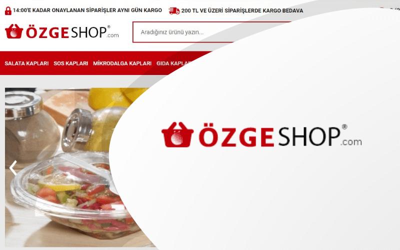 Özge Shop E-ticaret Sitesi