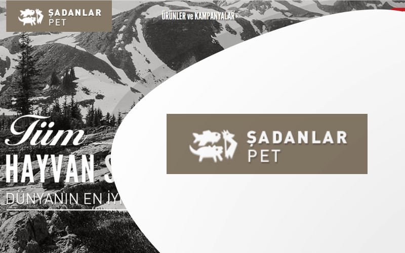 Şadanlar Pet E-ticaret Sitesi