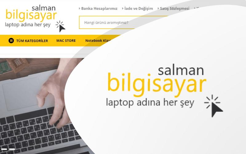 Salman Bilgisayar E-ticaret Sitesi