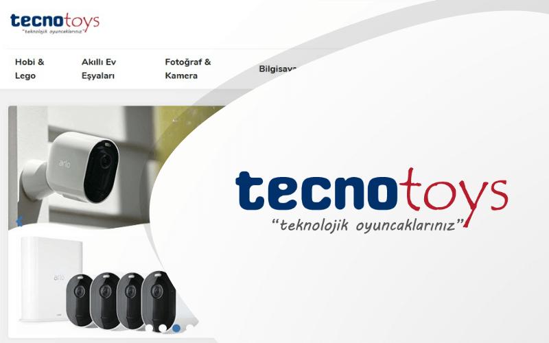 TecnoToys E-ticaret Sitesi