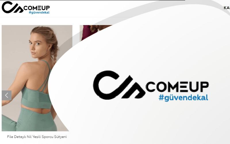 Comeup Türkiye E-ticaret Sitesi