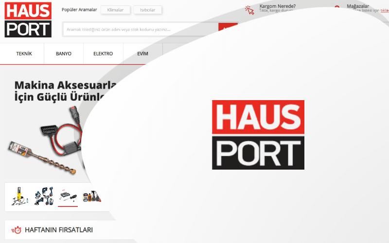 Hausport E-ticaret Sitesi