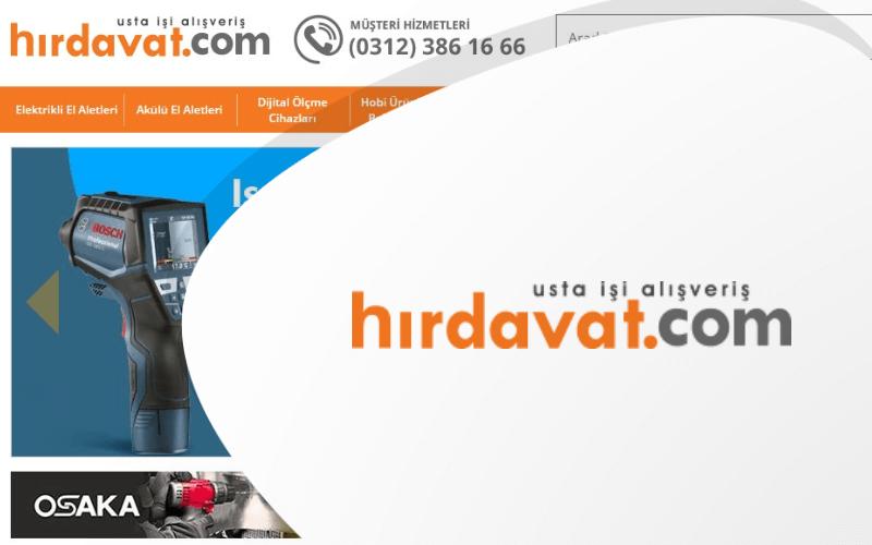 hirdavat.com E-ticaret Sitesi