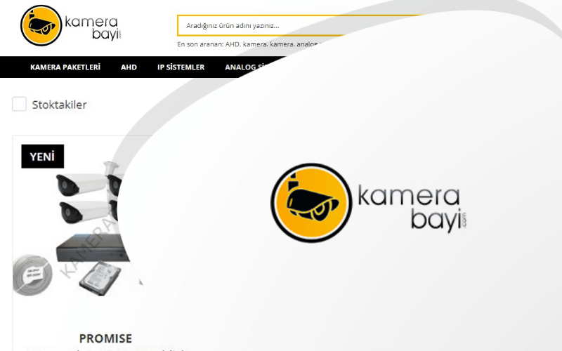 Kamera Bayi E-ticaret Sitesi