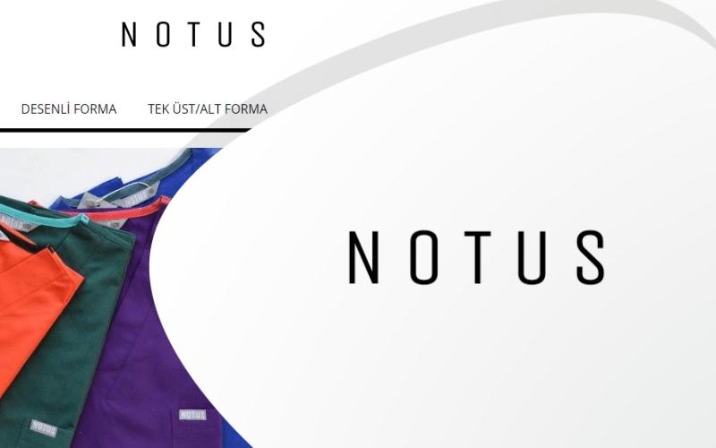Notus Uniform E-ticaret Sitesi