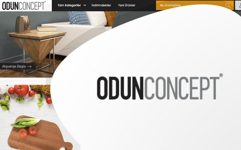 Odun Concept E-ticaret Sitesi