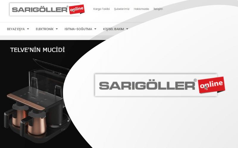 Sarıgöller Online E-ticaret Sitesi