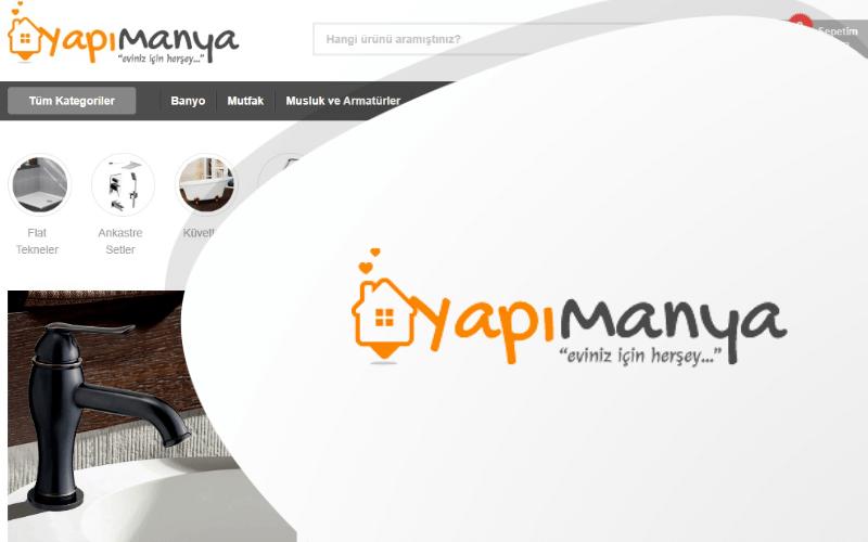 Yapımanya E-ticaret Sitesi
