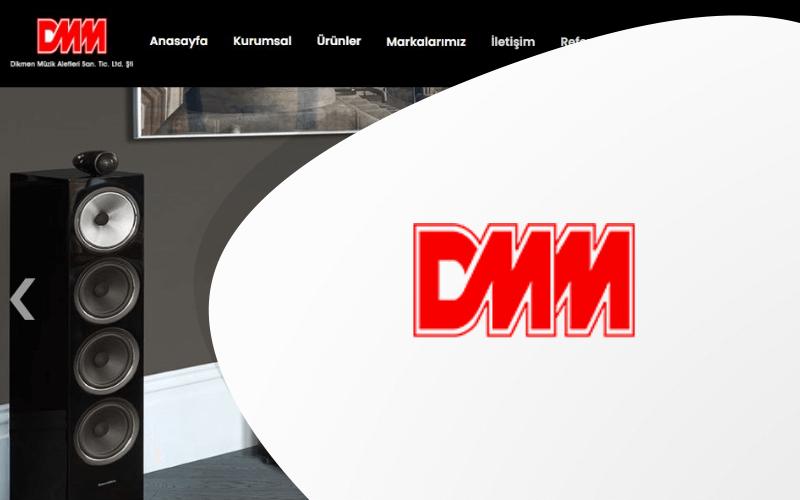 Dikmen Müzik Aletleri E-ticaret Sitesi