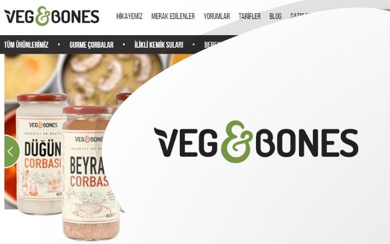 Veg & Bones E-ticaret Sitesi