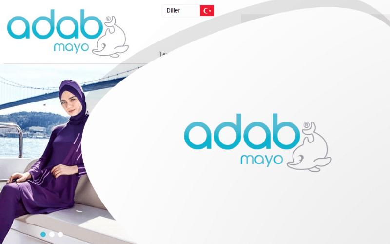 Adab Mayo E-ticaret Sitesi