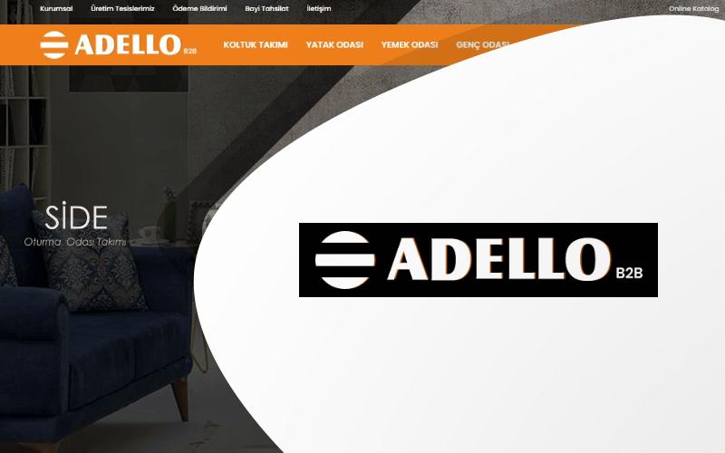 Adello Home E-ticaret Sitesi