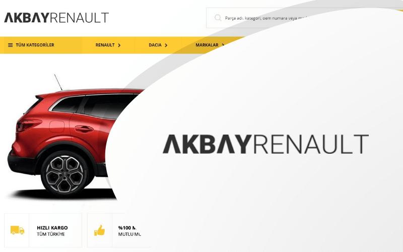 Akbay Renault E-ticaret Sitesi