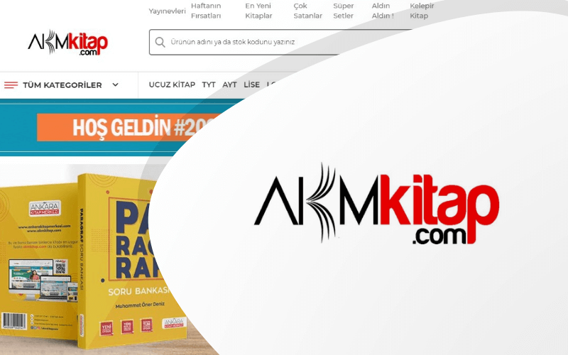 AKM Kitap E-ticaret Sitesi