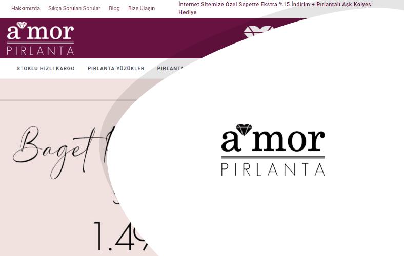 Amor Pırlanta E-ticaret Sitesi