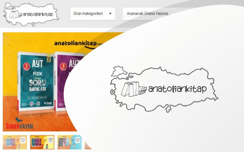 Anatolian Kitap E-ticaret Sitesi