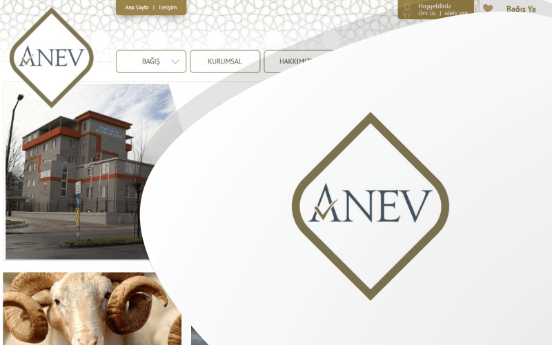 Anev E-ticaret Sitesi