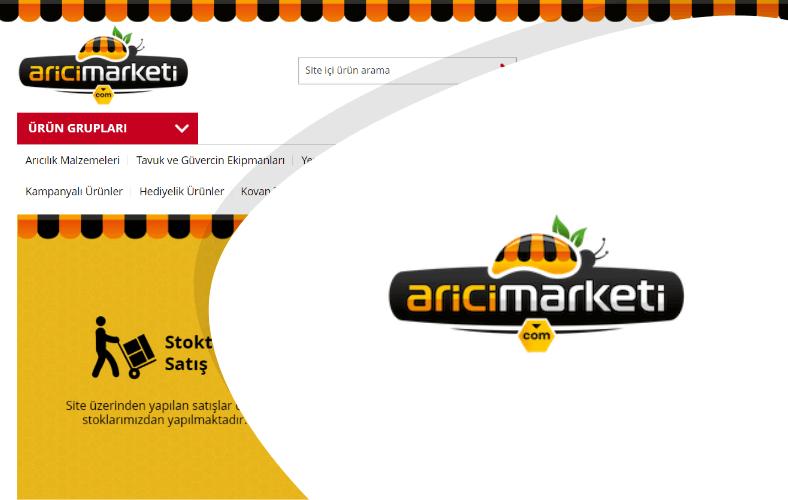 Arıcı Marketi E-ticaret Sitesi