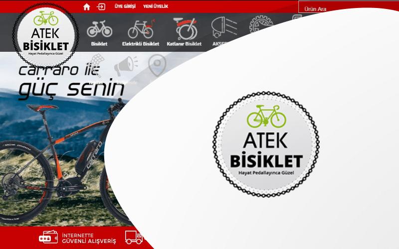 Atek Bisiklet E-ticaret Sitesi