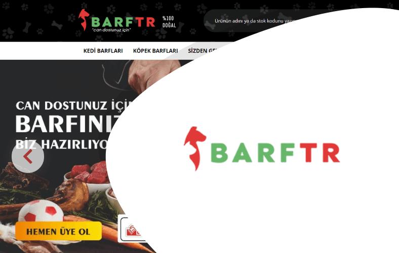 Barf TR E-ticaret Sitesi