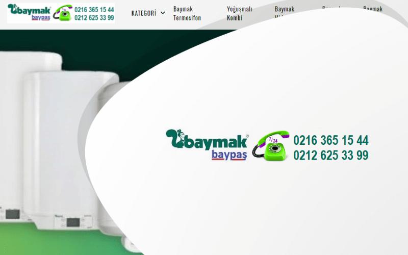 Baypas Baymak Bayi E-ticaret Sitesi