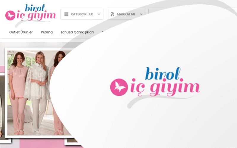 Birol İç Giyim E-ticaret Sitesi