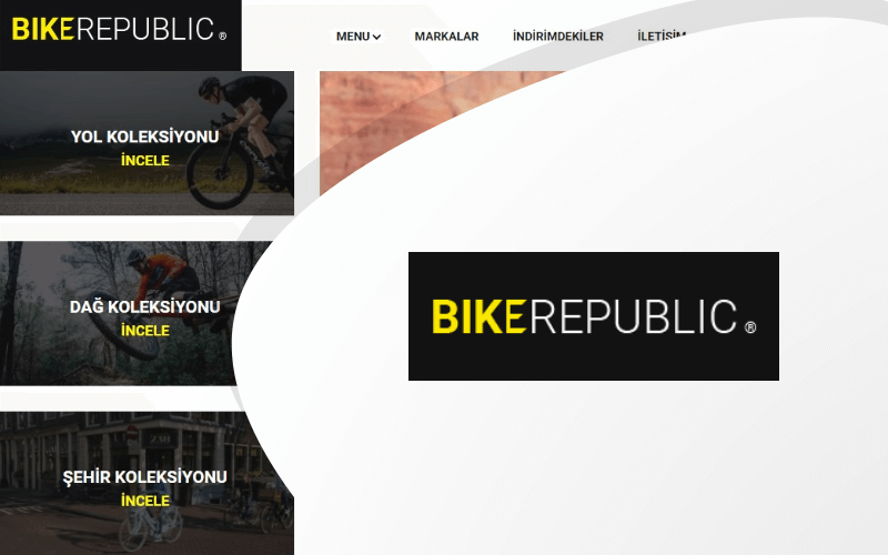 Bisiklet Cumhuriyeti E-ticaret Sitesi