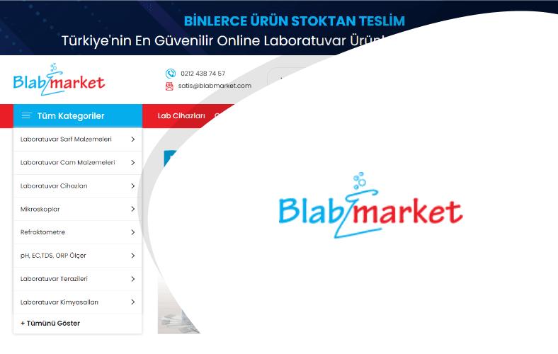 Blab Market E-ticaret Sitesi