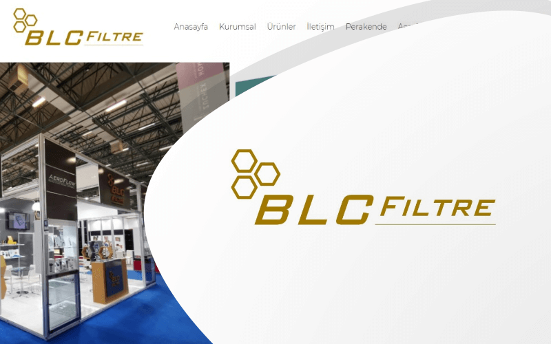 BLC Filtre E-ticaret Sitesi