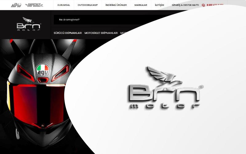Brn Motor E-ticaret Sitesi
