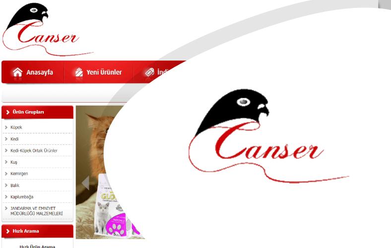 Canser Pet Market E-ticaret Sitesi