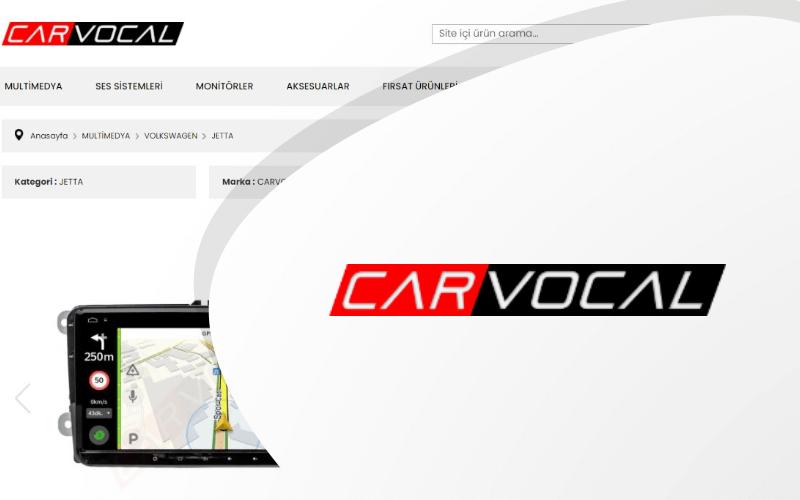 Carvocal E-ticaret Sitesi