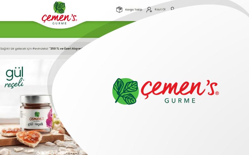 Çemen's E-ticaret Sitesi