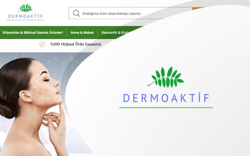 Dermoaktif E-ticaret Sitesi