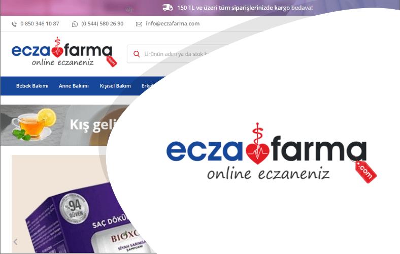 Ecza Farma E-ticaret Sitesi