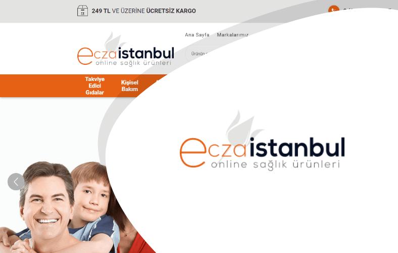 Ecza İstanbul E-ticaret Sitesi