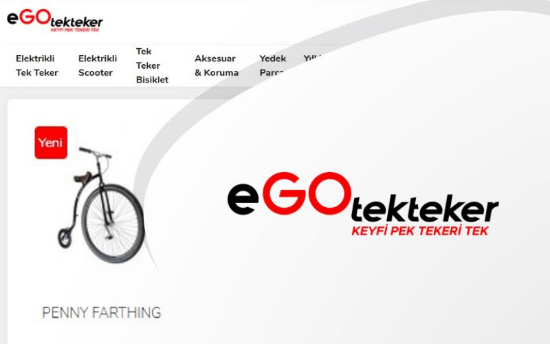 Ego Tek Teker E-ticaret Sitesi