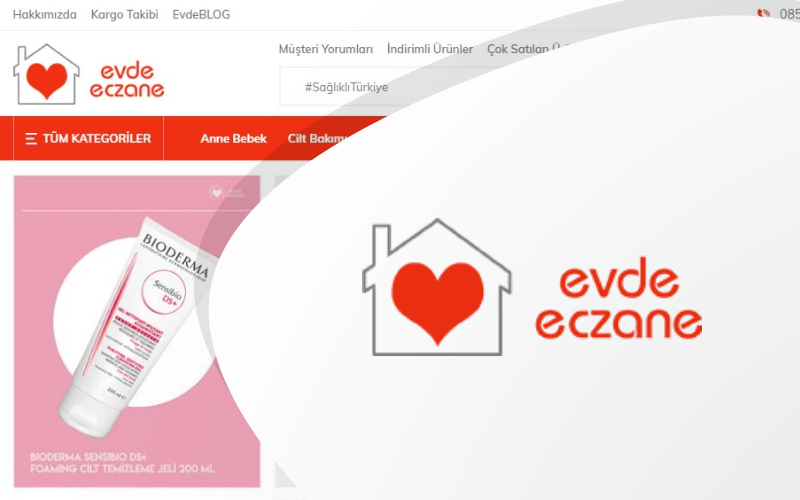 Evde Eczane E-ticaret Sitesi