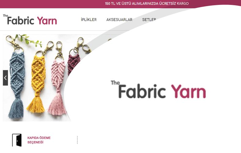 The Fabric Yarn E-ticaret Sitesi