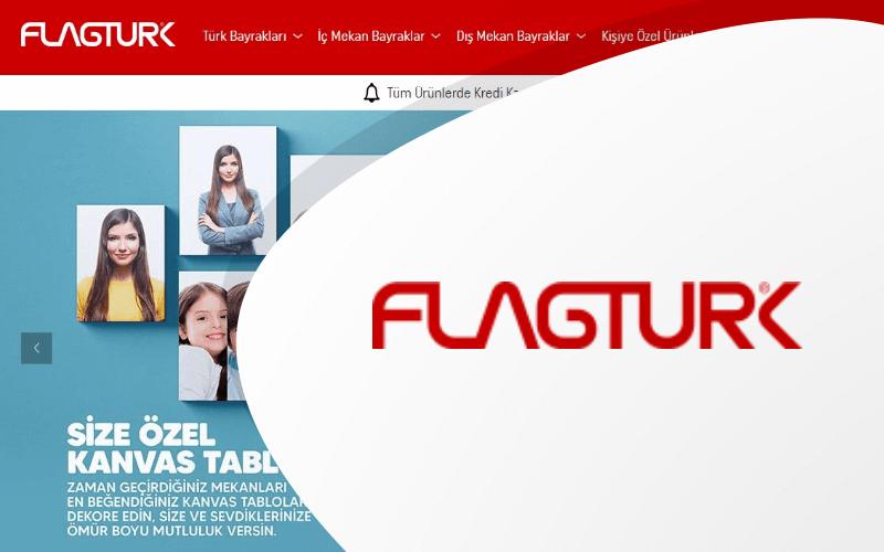 Flagturk E-ticaret Sitesi