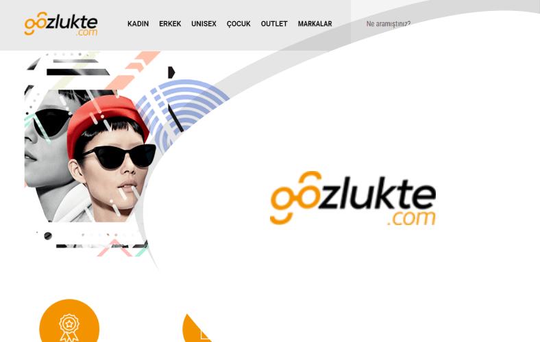 Gözlükte E-ticaret Sitesi