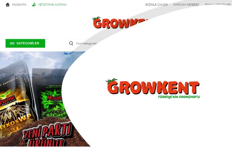 Growkent E-ticaret Sitesi