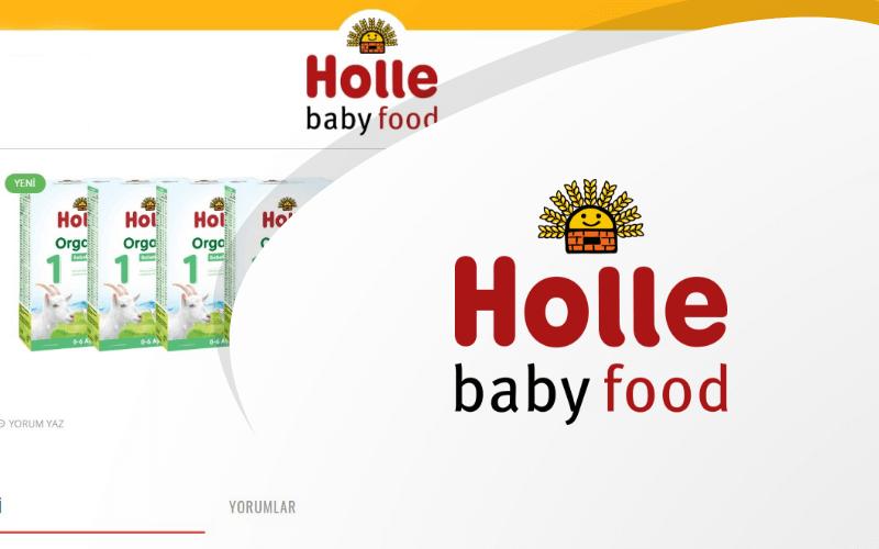 Holle Türkiye E-ticaret Sitesi