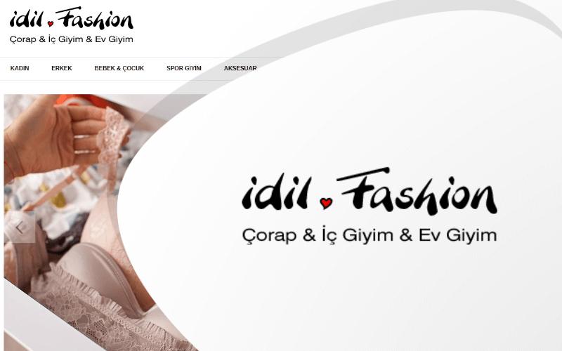 İdil Fashion E-ticaret Sitesi